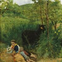 40. niccolò cannici   children in a landscape