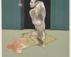 540. francis bacon | study for portrait ofjohn edwards (sabatier 22)