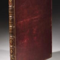 11. aquila-dorigny-frezza, tre raccolte di tavole incise, roma, 1693-1704, marocchino rosso decorato oro