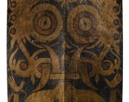 38. dayak shield, bornéo, indonesia  
