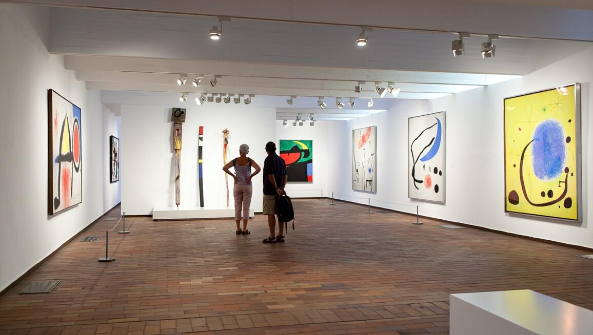 Interior View, Fundació Joan Miró