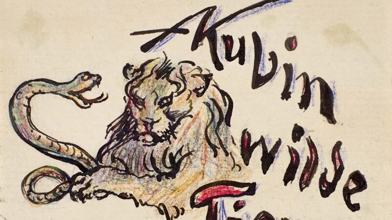 Alfred Kubin, Wilde Tiere