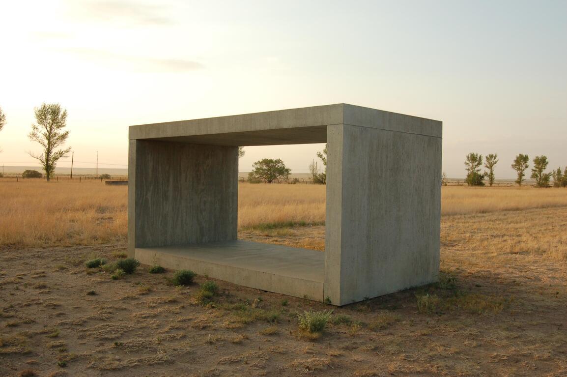 Donald Judd Concrete Blocks