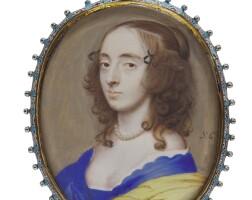 11. samuel cooper   portrait of a lady, circa 1650