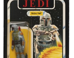 6. star wars return of the jedi boba fett 'palitoy 65-back' action figure, 1983