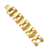 464. 14 karat gold bracelet, cartier