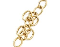 3. gold bracelet, tiffany & co.