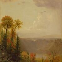 41. worthington whittredge   kaaterskill falls