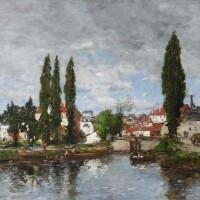 439. Studio of Eugène Boudin