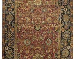 3. an isphahan carpet, central persia