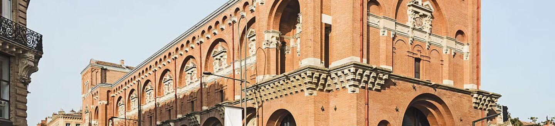 Exterior view of the Musée des Augustins de Toulouse.