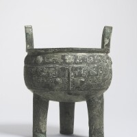 107. the quan zu xin zu gui ding: animportant inscribed bronze tripod shang dynasty, 13th-11th century bc