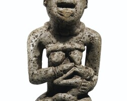 30. statue commémorative en pierre, région de noqui, angola