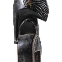 245. poulie de métier à tisser, sénufo, côte d'ivoire  