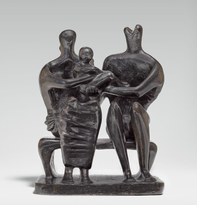 Henry Moore, Family Group, 1945, lot 14, Estimate £1,300,000-1,800,000.