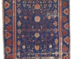 43. a yarkand rug, east turkestan