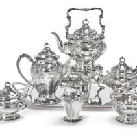 23. an american silver six-piece tea and coffee set, gorham mfg. co., providence, ri, 1898 |