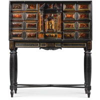 20. anitalian baroque gilt-bronze mounted ebony, ebonised andtortoiseshell cabinet on stand, possibly naples second half 17th century