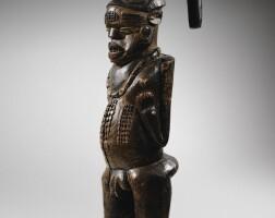 146. statue, kuyu, république du congo  