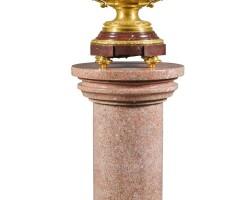 5. a gilt-bronze twin-handledjardinière