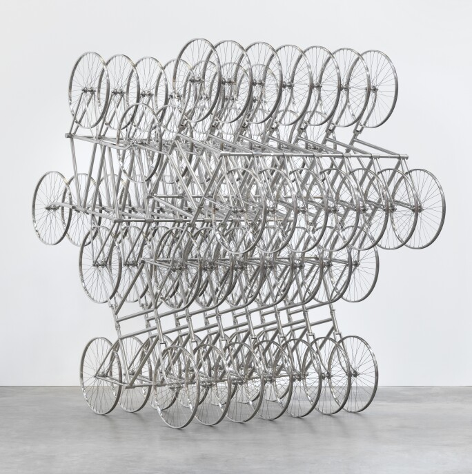 Ai Wei Wei forever series bicycles
