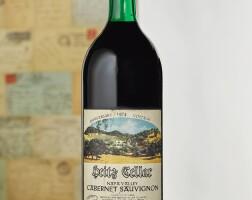 6206. heitz cellar, cabernet sauvignon, martha's vineyard 1974  