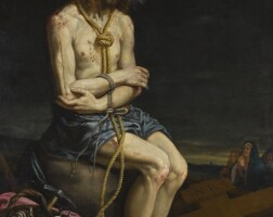 55. vicente carducho | christ in contemplation before his crucifixion