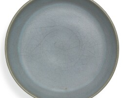 3. a small 'jun' saucer dish song dynasty