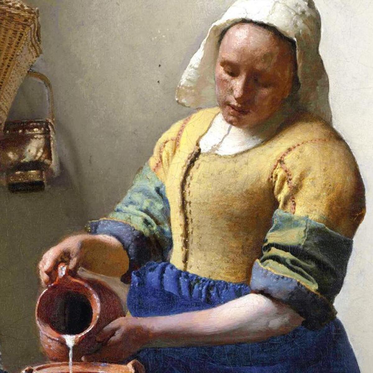 Johannes Vermeer\'s \'The Milkmaid\' — A Mona Lisa for the Dutch Golden Age