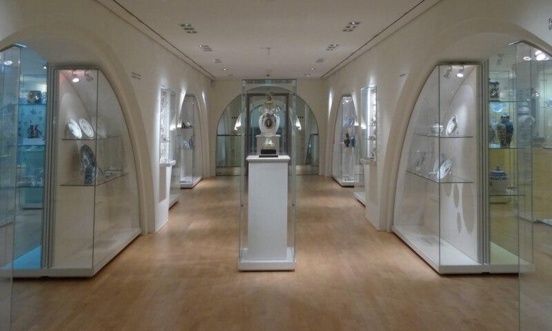 Interior of the Museum für Kunst und Gewerbe, Hamburg