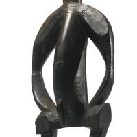 47. senufo or bamana male figure, mali