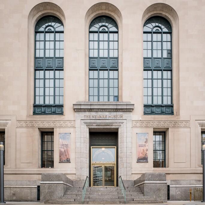Newark Museum Exterior