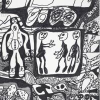 107. Jean Dubuffet