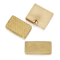 13. three gold boxes