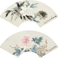 1001. 張熊 1803-1886 | 花卉山水