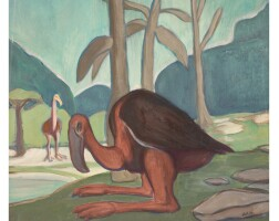 149. alfred kubin | prähistorische vögel (prehistoric birds)