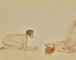 49. sir william russell flint, r.a., p.r.w.s.   two nudes