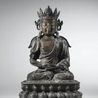 211. statuette de guanyin en bronze dynastie ming