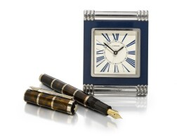 8. group of men's accessories, featuring a montblanc pen