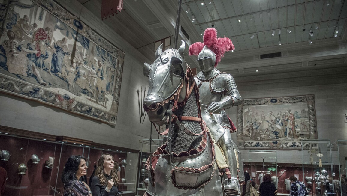 The Cleveland Museum of Art, Armor Court