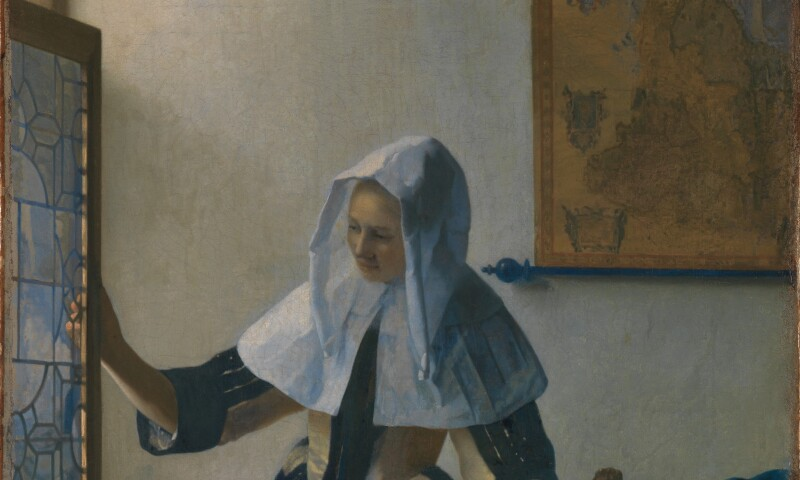 Johannes Vermeer, Young Woman with a Water Pitcher, ca 1662 (4).jpg