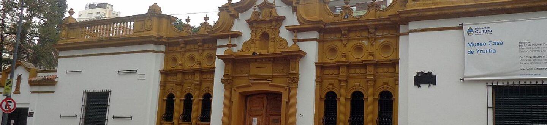 Exterior view of the Casa de Yrurtia Museum.