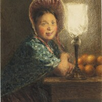 426. william henry hunt | the irish orange seller