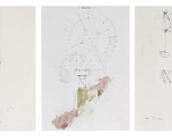 174. manfred pernice (b. 1963) | untitled [three works],2005