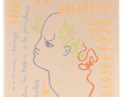 126. jean cocteau | hommage à raoul dufy