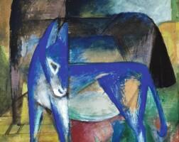 7. 弗朗茲・馬克 | 《兩頭藍色驢子(馬與驢子)》