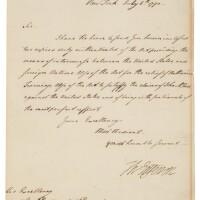 24. thomas jefferson, third president, as secretary of state