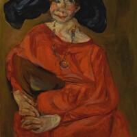 26. 沙伊姆・蘇丁 | 《紅衣女子》