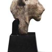36. an egyptian alabaster head of sekhmet, new kingdom, 1554-1080 b.c. | an egyptian alabaster head of sekhmet
