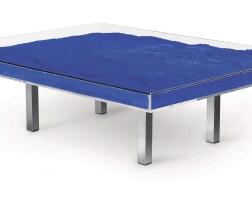 342. yves klein   table bleue